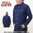 【送料無料】FULLCOUNT フルカウント 4890[a6w]DENIM WORK SHIRTS デニムワークシャツ 長袖