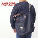 【送料無料】SUGAR CANE シュガーケーン SC02460[r6w]12oz 12オンス やや薄手 デッドストック デニムトートバッグ