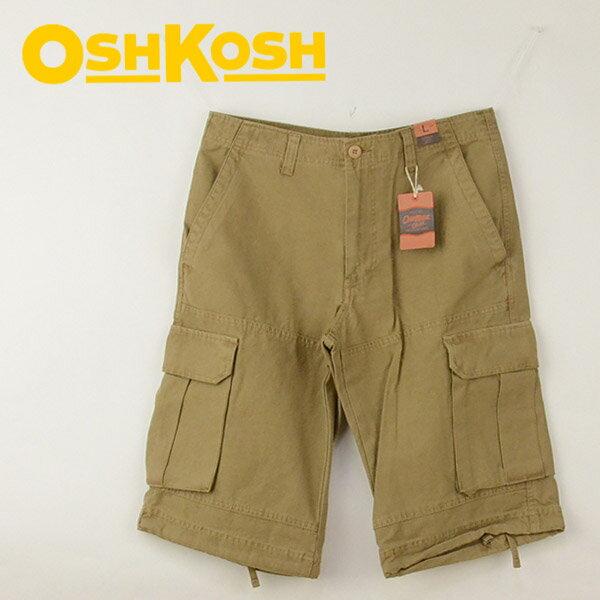 OSHKOSH オシュコシュ 732-1106 ショートカーゴパンツ アメカジ メンズ 男性 ブランド ポイント消化 メンズファッション ズボン 40代