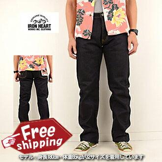 IRON HEART 634-XHS made in Japan 25oz denim jeans regular straight raw denim
