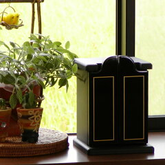 ペットとの想い出を大切に・・・。ペット用仏壇 やすらぎ 漆黒・濃紺 <80020>