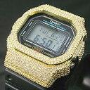 カシオ G-SHOCK 腕時計 CUSTOM BEZEL カスタムベゼル イエローゴールド (Yellow Gold) DW-5600 シリーズ ウォッチ パーツ