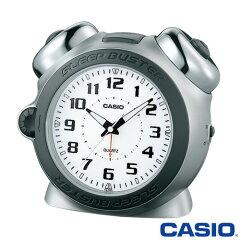 CASIO 正規流通品/大音量ベルアラームモデルカシオ 置き時計 スリープバスター 645 (シルバー)