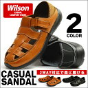 Wilson サボサンダル メンズ サンダル 2way スリ...