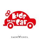 おもちゃの車 Kids in car カッティング ステッカー ベイビー...