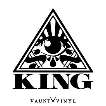 [ KING ] seeing eye カッティング ステッカー 車 ステッカー シール フィルム ウインドウ / スーツケース サーフィン スノーボード / アメリカン 雑貨 USDM JDM タトゥー SK8 スケート ボード クライスラー 300c ジープ / 10P05Aug17