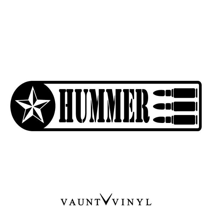 ミリタリー ハマー カッティング ステッカー 車 ステッカー デカール シール カスタム スーツケース / アメリカン USDM 軍 軍服 迷彩 カモフラ ワッペン アウトドア / us army navy air force エアフォース / hummer H2 H3 / 10P05Aug17