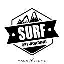 OFF ROADING SURF サーフ カッティング ステッカー ハイラッ...