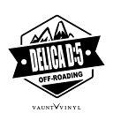 OFF ROADING DELICA D5 デリカD5 カッティング ステッカー シ...