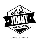 OFF ROADING JIMNY ジムニー カッティング ステッカー jb23 j...