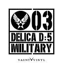 MILITARY DELICA D5 デリカD5 カッティング ステッカー デリ...