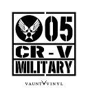MILITARY CR-V カッティング ステッカー CR-V crv rm1 re4 rd...
