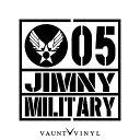MILITARY JIMNY ジムニー カッティング ステッカー ジムニー ...