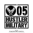 MILITARY HUSTLER ハスラー カッティング ステッカー ハスラ...