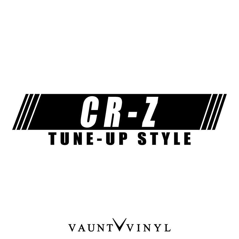 外装・エアロパーツ, ステッカー・デカール CR-Z TUNE-UP STYLE CR-Z crz honda sports 10P05Aug17