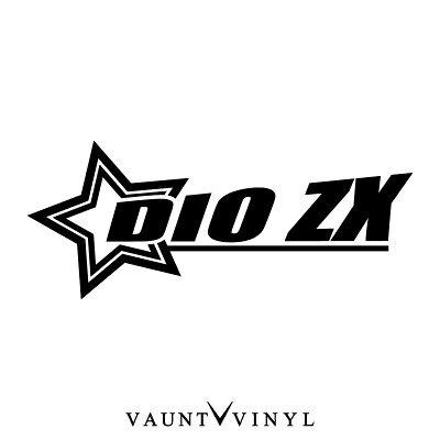 【楽天市場】スター DioZX ステッカー ライブdio zx af35 af62 スピード メーター 改造 ミラー