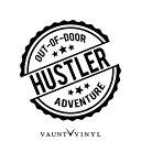 OUT OF DOOR HUSTLER ハスラー カッティング ステッカー スズ...