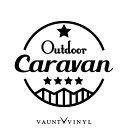 OUT DOOR CARAVAN キャラバン カッティング ステッカー nv350...
