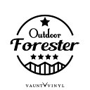 OUT DOOR FORESTER フォレスター カッティング ステッカー フ...