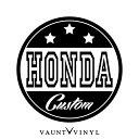 HONDA CUSTOM カッティング ステッカー ホンダ ...
