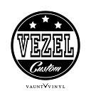 VEZEL CUSTOM カッティング ステッカー ヴェゼル パーツ シー...