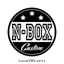 N-BOX CUSTOM カッティング ステッカー Nボックス スラッシュ...