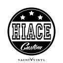 HIACE CUSTOM カッティング ステッカー ハイエース hiace 100...