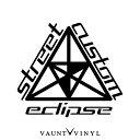 Eclipse Street Custom カッティング ステッカー ミツビシ 三...