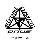 Prius Street Custom カッティング ステッカー プリウス α プ...