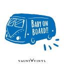 BABY ON BOARD ステッカー 西海岸 カリフォルニア beach ビー...