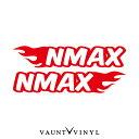 フレイム NMAX カッティング ステッカー 左右セット N...