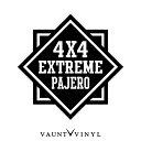 4x4 EXTREME パジェロ カッティング ステッカー パジェロ v9 ...