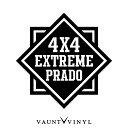 4x4 EXTREME プラド カッティング ステッカー プラド ランド...