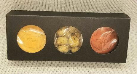 ヴィーガン&グルテンフリー米粉クッキーお多福おたふくお祝い縁起物プチギフトセット箱入り3種