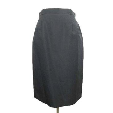 uniform beach スーツ タイトスカート 膝丈 ハーフ バックスリット 11 黒 ブラック/25 レディース 【中古】【ベクトル 古着】 190116 ベクトル マークスラッシュ