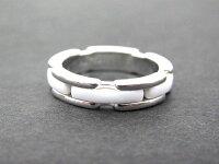 シャネルCHANELウルトラコレクションリング指輪K18WGホワイトセラミックT49白9号レディースレディース【】【ベクトル古着】170325ベクトルマークスラッシュ