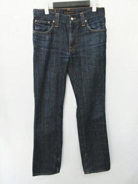 ヌーディージーンズ nudie jeans デニムパンツ ジーンズ ボトムス スリム インディゴブルー サイズW30L32 メンズ 【中古】【ベクトル 古着】 180418 ベクトル マークスラッシュ