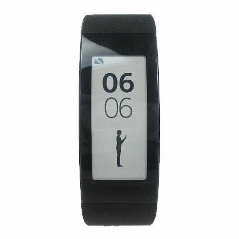 ソニー SONY 美品 SmartBand Talk Bluetooth SWR30-B スマートウォッチ 腕時計 黒 メンズ レディー...