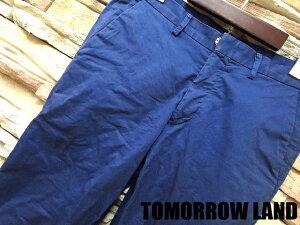 【TOMORROW LAND/トゥモローランド】 タイト スリム スキニー コットン パンツ 46 ブルー メン...