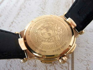 ヴェルサーチVERSACE時計ミスティックスポーツVFG070013クロノグラフメンズゴールドメンズ【ベクトル古着】【】160131