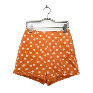 [usado] artículo no utilizado Dazurin dazzlin shorts dot S naranja mujer [vector de ropa usada] 170217 marca de ropa usada vector premium store