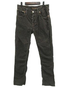 ヌーディージーンズ nudie jeans パンツ コーデュロイ スリム ブラウン 茶 W28 L32 レディース 【中古】【ベクトル 古着】 171116 ブランド古着ベクトルプレミアム店