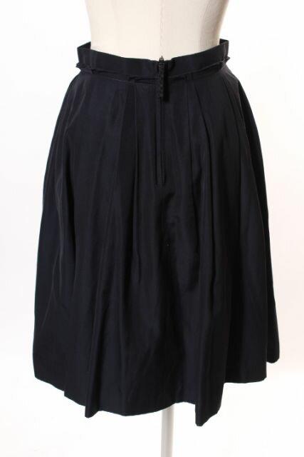 【中古】 エムプルミエ ブラック M-Premier BLACK 16SS プリーツ フレア スカート /ms0515 レディース 【ベクトル 古着】 190515