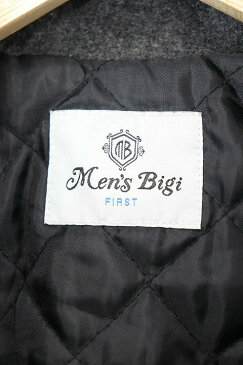 メンズビギ MEN'S BIGI コート ジャケット ダッフル フード 切替 ウール 2 グレー /RI22 メンズ 【中古】【ベクトル 古着】 180919 ブランド古着ベクトルプレミアム店