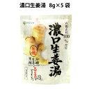 マルシマ濃口生姜湯 8g×5袋入り 6パック