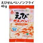 えびせんべいノンフライ 40g×5袋 国内産馬鈴薯澱粉使用