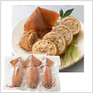 【予約】 玄米いかごはん 3尾 1パック
