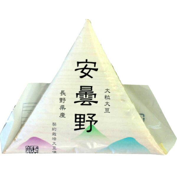 村田商店 安曇野納豆 経木入り大粒納豆 80g