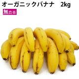 オーガニック バナナ 2kg フルーツ 果物