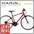 (特価セール)(送料無料)(特典付)クロスバイク 2016年モデル MARIN マリン FAIRFAX SE フェアファックスSE マットレッド